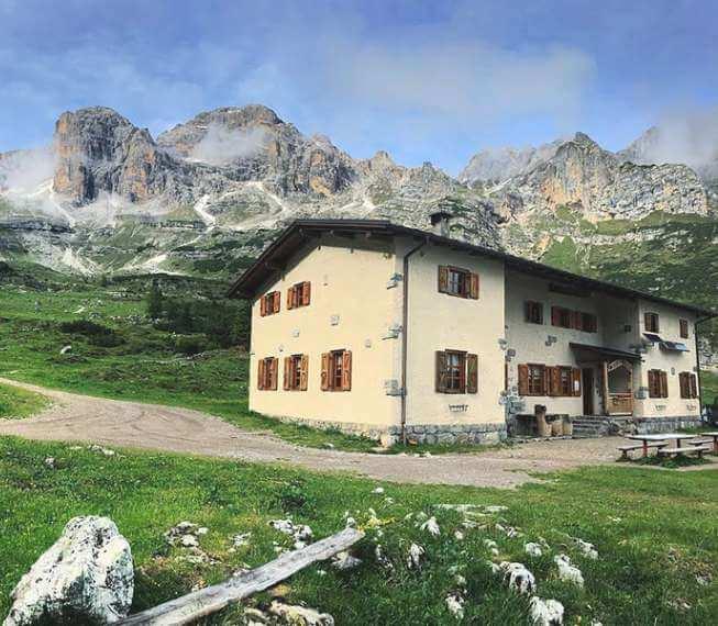 Rifugio Cacciatore - Val D'Ambiez