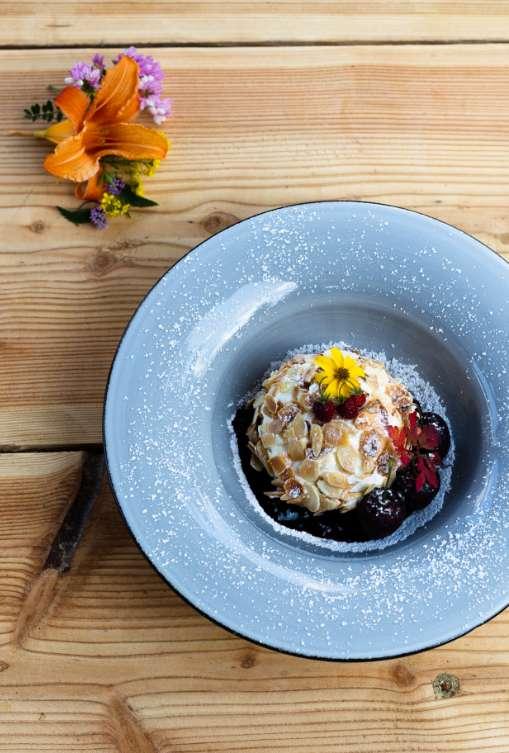 Ristorante Rifugio Alpenrose - La cucina